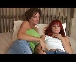 Deauxma and redhead girl.