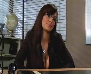 Lisa Ann and Ann Marie in Teacher vs Student