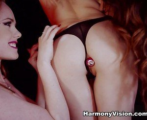 Samantha Bentley & Ella Hughes & Aida Sweet in Little Whores In Action  - HarmonyVision
