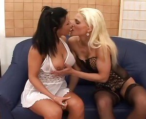 Incredible Lesbian Pantyhose xxx movie. Watch and enjoy