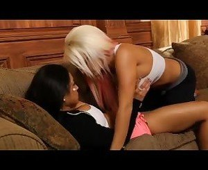 Incredible Lesbian clip with Shaved,Blonde scenes