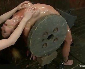 extreme bondage positions and squirting orgasms
