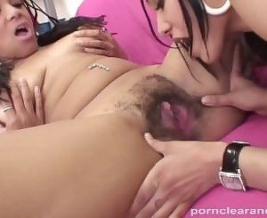 Ms Brazil takes a break from studying to eat Shyla's wet pussy