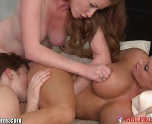GirlfriendsFilms MILF Guides 2 Young Redheads
