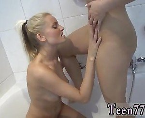 Cute blonde teen first time anal and kinky