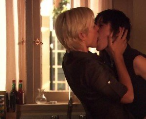 Katherine Moennig and Stefanie von Pfetten - The L Word