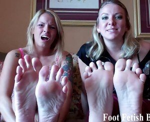 We know all about your little foot fetish