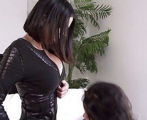 Brunettes plagued by all sorts of ways their wet pussies
