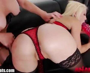 AnalAcrobats HOT Lesbian Deep Anal With Toys