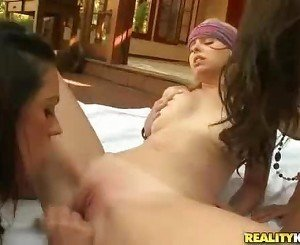 Hot lesbian chicks in Naughty By Nature by WeLiveTogether