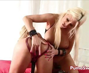 Two Smoking Hot Blondes! Puma Swede Fucks Claudia!